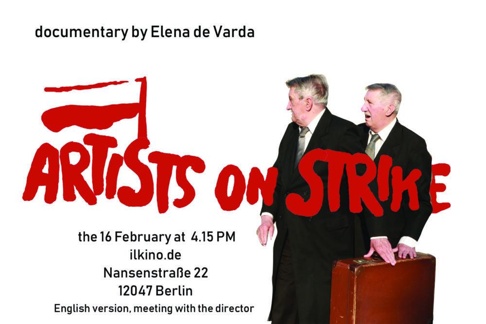 Artisti in sciopero