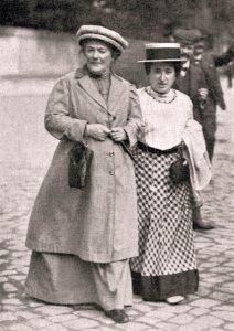 Clara Zetkin e Rosa Luxemburg