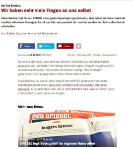 Der Spiegel Abbiamo molte domande su noi stessi