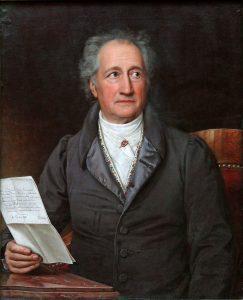 J.W. Goethe - Stieler 1828