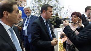 Il Ministro Centinaio all'ITB © il Deutsch-Italia