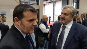 Il Ministro con il Presidente della Regione Puglia Emiliano © il Deutsch-Italia