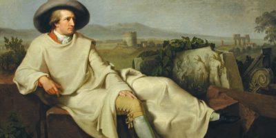 W. Tischbein - Goethe nella campagna romana © Städel Museum U. Edelmann Artothek