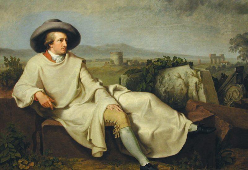 Goethe discepolo di Tischbein, all'ombra del Cupolone - Il Deutsch ...