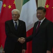Xi Jinping e Mattarella © Youtube Presidenza della Repubblica Italiana Quirinale