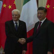 Xi Jinping e Mattarella © Youtube Presidenza della Repubblica Italiana Quirinale