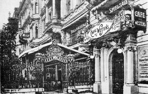 Il Café des Westens 4 gennaio 1900
