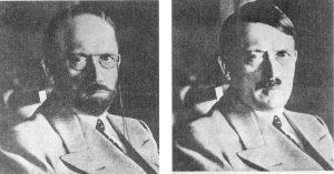 Come poteva apparire Hitler camuffato secondo i servizi segreti americani