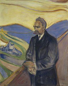 Friederich Nietzsche ritratto da Edvard Munch