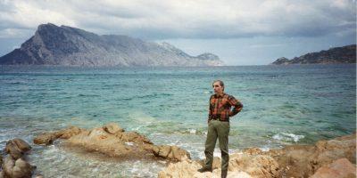 Lino De Palmas davanti a Tavolara © il Deutsch-Italia