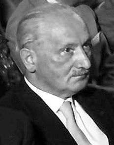 Martin Heidegger © CC BY-SA 3.0 Willy Pragher - Landesarchiv Baden-Württenberg