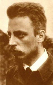 Rainer Maria Rilke 1900 circa
