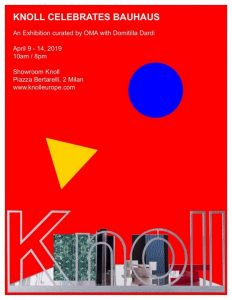 Knoll Bauhaus exhibition