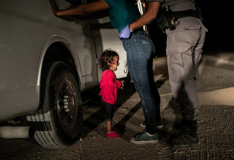 Crying Girl on the Border John Moore, United States, © Getty Images