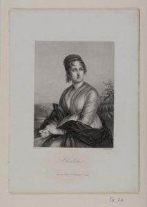 J. L. Raab Charlotte © Casa di Goethe