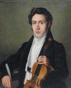 Niccolò Paganini ritratto giovanile