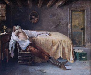 T. Patini La morte di Jacopo Ortis © Casa di Goethe