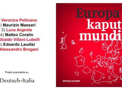 Europa Kaputt Mundi © il Deutsch-Italia