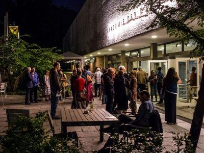 AdK Poesiefestival opening © gezett