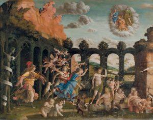 Mantegna - Pallade scaccia i Vizi dal giardino delle Virtù © Silvana Editoriale