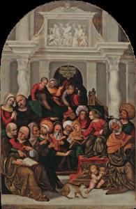 Ludovico Mazzolino - Gesù dodicenne al Tempio © Silvana Editoriale