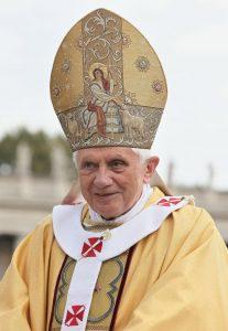 Papa Benedetto XVI © Kancelaria Prezydenta RP GFDL 1.2 WC