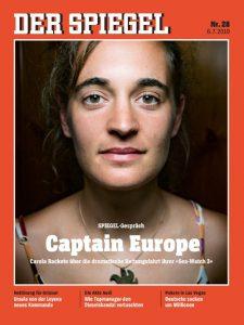 Carola Rackete © Der Spiegel