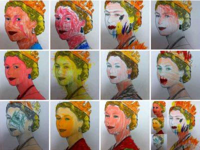 Disegni realizzati da bambini dai 3 ai 6 anni durante un corso di sensibilizzazione alla lingua straniera © Damiano Meo
