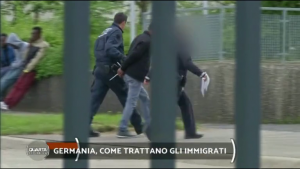 "Immigrati in Germania © Nicola Porro ""Quarta Repubblica"""