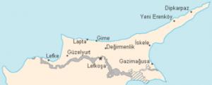 L'area Nord di Cipro