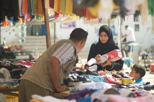 Un mercato di Tunisi