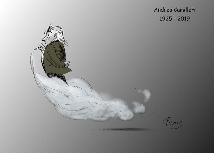 Andrea Camilleri © Paolo Calleri