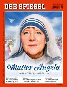 "La copertina di ""Der Spiegel"" del 2015"