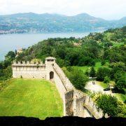 Vista dalla torre del Castello di Angera © Damiano Meo