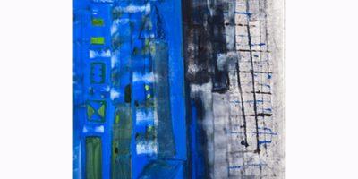 Guglielmo Spotorno, New York, 2013, tecnica mista su tela