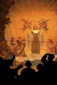 Tusa particolare della 'Acchianata della Madonna' © Damiano Meo