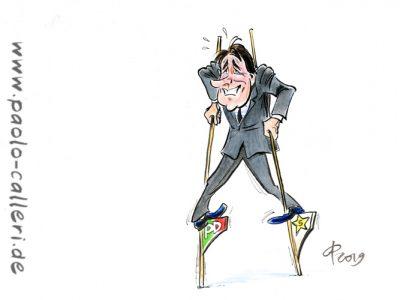 Italiens Regierung steht
