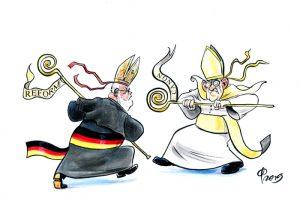 Synodaler Weg: Streit zwischen Papst Franziskus und deutschen Bischöfen. Sinodo: lite tra Papa Francesco e i vescovi tedeschi-