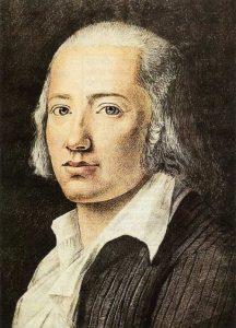 Friedrich Hölderlin Pastello 1792 - FK Hiemer