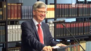 Karlheinz Weissmann © Youtube Bibliothek des Konservatismus