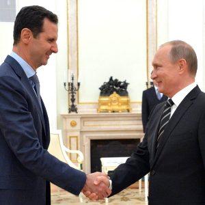 Vladimir Putin e Bashar al-Assad © Kremlin.ru