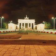 La Porta di Brandeburgo subito dopo la caduta del Muro © il Deutsch-Italia