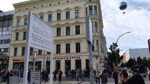 Il vecchio caffè Adler oggi Einstein © il Deutsch-Italia