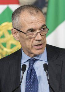 Carlo Cottarelli © Presidenza della Repubblica