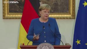 Merkel-Conte © Youtube EuronewsMerkel-Conte © Youtube Euronews