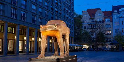 Kauri CAB X David Cerny - Quo Vadis - Berlin 2019 © Saskia Uppenkamp