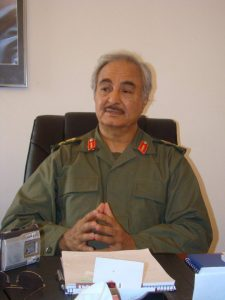 Il generale Haftar © CC BY-SA 2.0 Magharebia Flickr