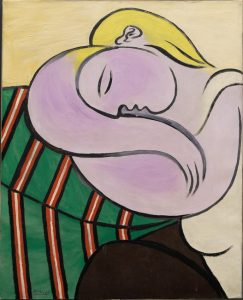 Pablo Picasso Donna dai capelli gialli © Solomon R. Guggenheim Foundation, New York