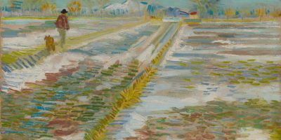 van Gogh Paesaggio con la neve © Solomon R. Guggenheim Foundation, New York
