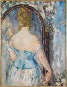 Manet Davanti allo specchio © Solomon R. Guggenheim Foundation, New York